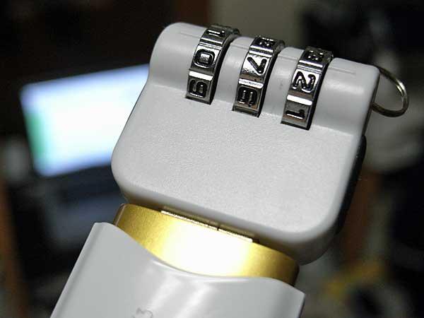 USBロックキャップチャーム